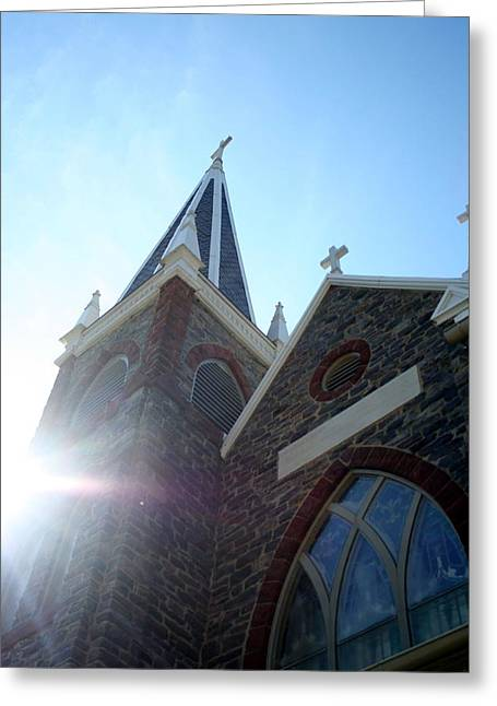 St Peters Roman Catholic Church Greeting Card by Rebecca Smith