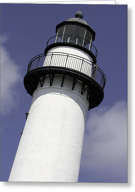 St Simons Island Lighthouse Greeting Card
