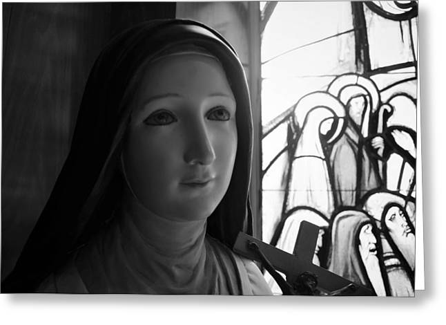 Greeting Card featuring the photograph St. Therese Of Lisieux by Jeanette O'Toole