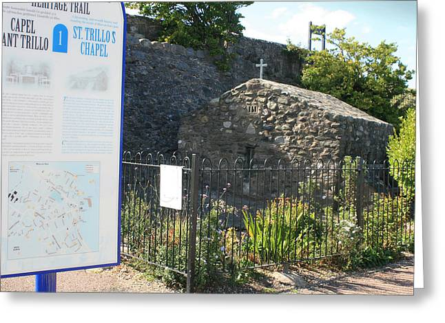 St. Trillo's - Uk - The Smallest Chapel ... Greeting Card