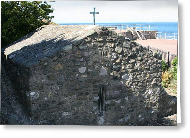 St Trillo's Chapel - North Wales - Exterior Greeting Card