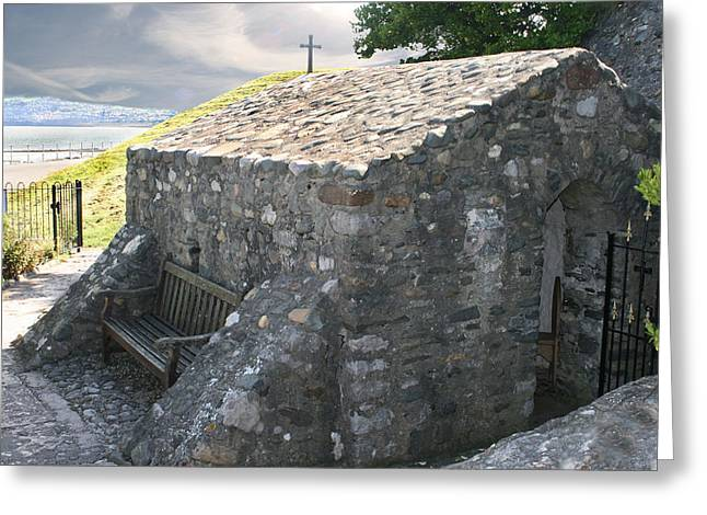 St. Trillo's Chapel - North Wales - Uk ....... Greeting Card