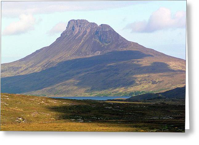 Stac Pollaidh Greeting Card by Bruce