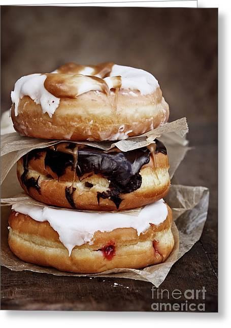 Stacked Donuts Greeting Card