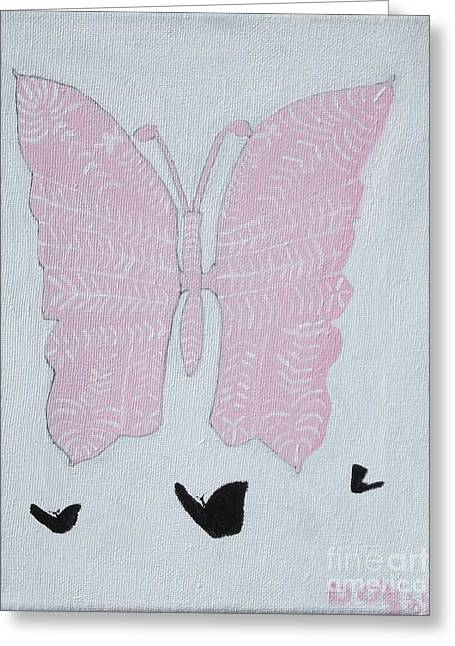 Stacys Wings Greeting Card by Dennis ONeil