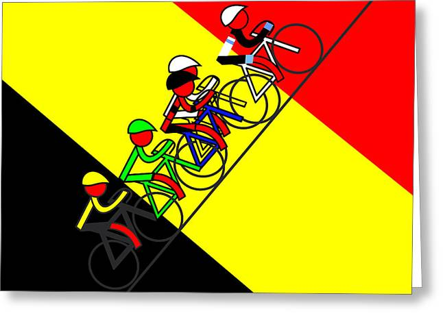 Stage 14 Surprise Surprise Belgium Winner Greeting Card