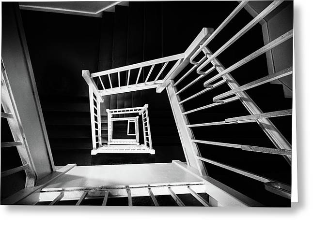 Staircase II Greeting Card