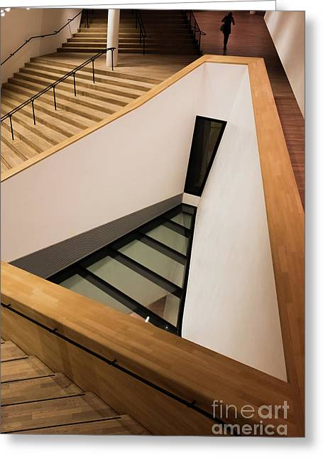 Staircase In Elbphiharmonic Greeting Card