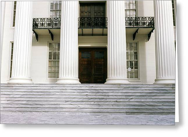 Staircase Of A Government Building Greeting Card by Panoramic Images