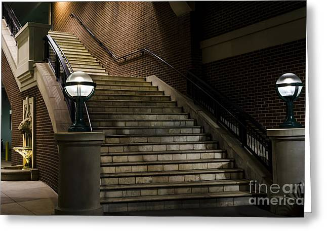 Staircase On The Blvd. Greeting Card