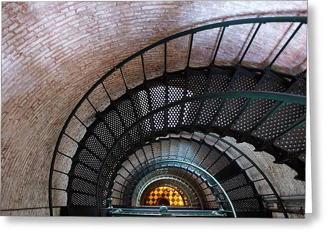 Staircase Greeting Card by Patrick  Flynn