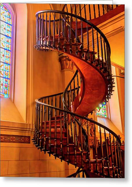 Staircase To Heaven Greeting Card