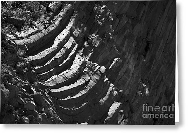 Stairs Of Time Greeting Card