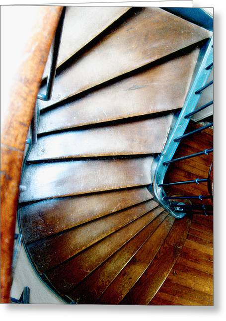 Stairs Paris Greeting Card by Keith Campagna