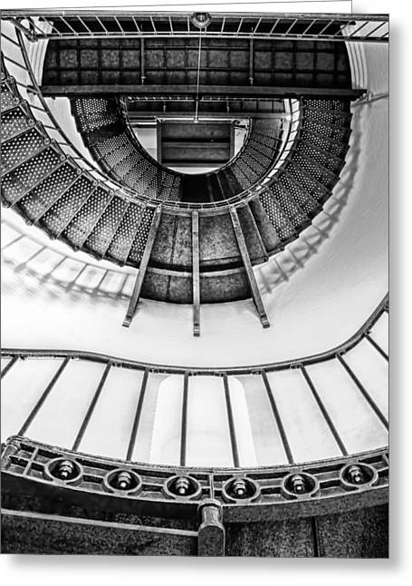 Stairs - Piedras Blancas Light  Greeting Card by Nikolyn McDonald