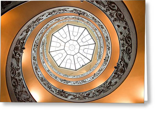 Stairs To Heaven Greeting Card by Andre Goncalves