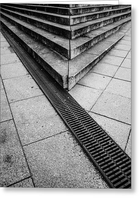 Stairs  Greeting Card by Tommytechno Sweden