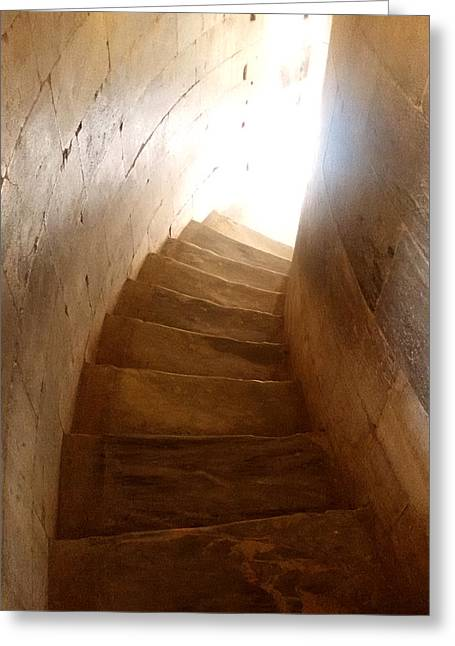 Stairway From Heaven Greeting Card