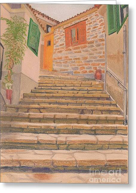 Stairway To . . . ? Greeting Card