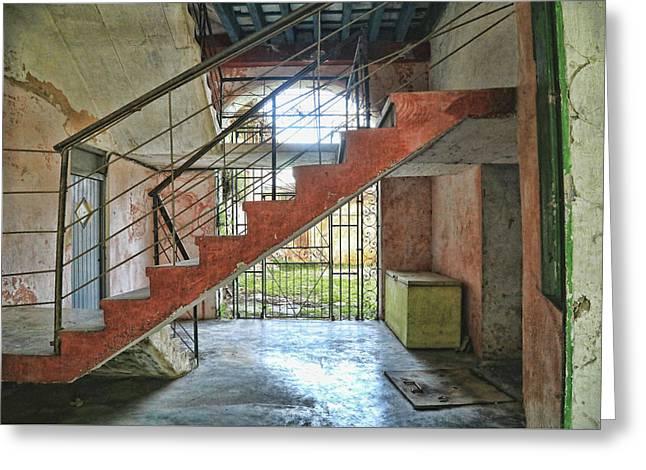 Stairway To Havana Greeting Card