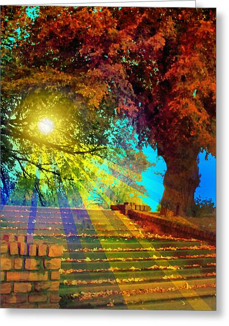 Stairway To  Greeting Card