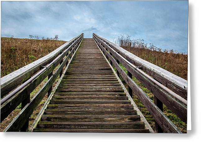 Stairway To The Sky Greeting Card