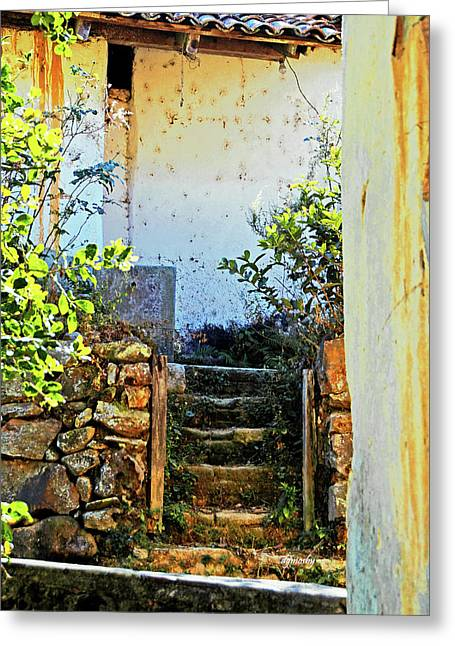 Stairway7880 Greeting Card by David Mosby