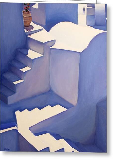 Stairways Greeting Card by Patrick Parker
