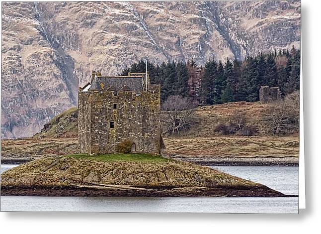 Stalker Castle Greeting Card by Sam Smith