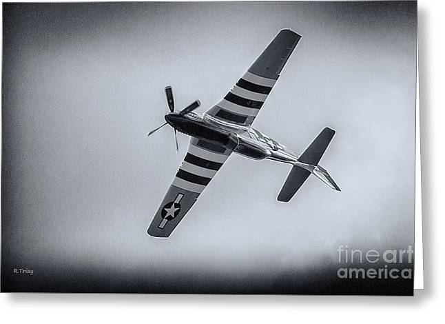 Stallion 51 - P-51d Mustang - Crazy Horse 2 Greeting Card by Rene Triay Photography
