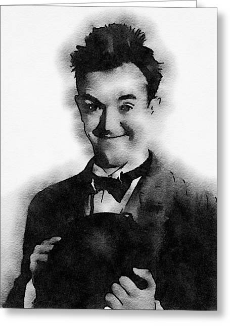 Stan Laurel Greeting Card by John Springfield