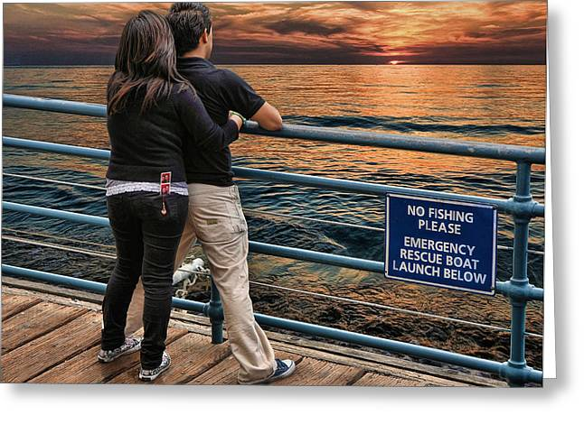 Stand By Me .... Greeting Card by Bob Kramer