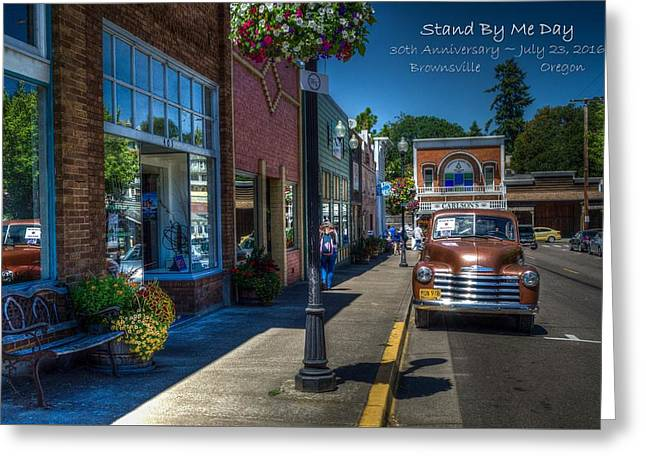 Stand By Me Day Greeting Card by JM Photography Jim Mullholand