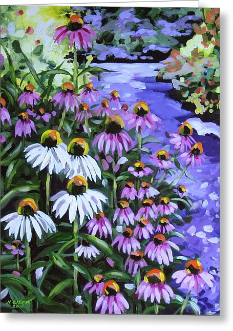 Stand Out In A Crowd Greeting Card