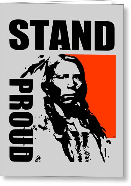Stand Proud Greeting Card