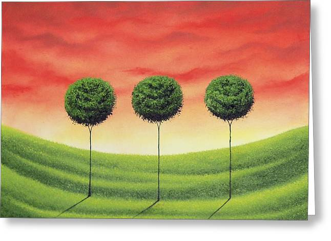 Stand Strong Greeting Card by Rachel Bingaman