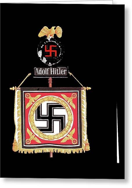 Standard Of The Leibstandarte Adolf Hitler Circa 1935  Greeting Card