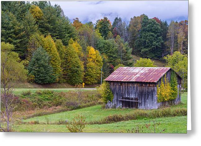 Tenessee Roadside Barn Greeting Card