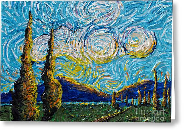Standing Before Thee Greeting Card by Stefan Duncan