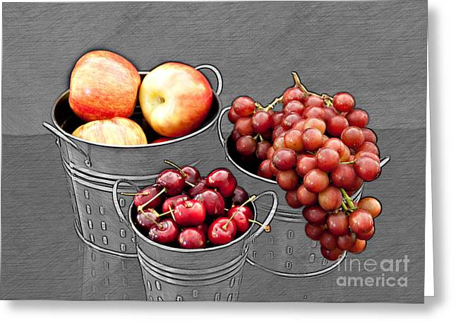 Greeting Card featuring the photograph Standing Out As Fruit by Sherry Hallemeier