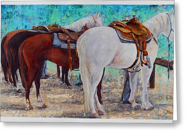 Standstill Greeting Card by Patricia Pasbrig