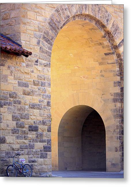 Stanford Arches Greeting Card