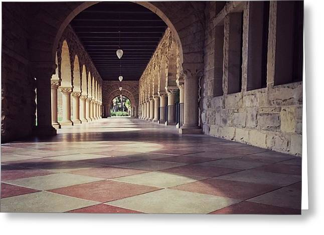 Stanford University #buildings Greeting Card