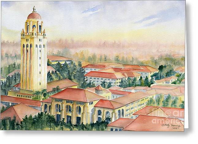 Stanford University California Greeting Card