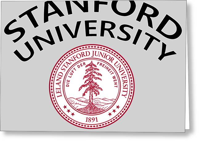Stanford University Stanford California  Greeting Card by Movie Poster Prints