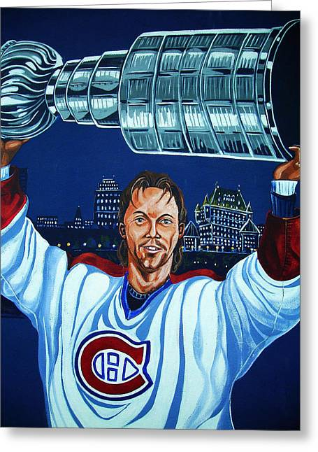 Stanley Cup - Champion Greeting Card by Juergen Weiss