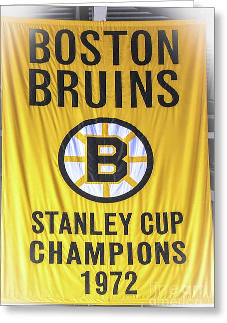 Stanley Cup Champions 1972 Greeting Card