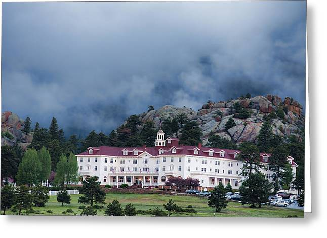 Stanley Hotel At Estes Park Greeting Card