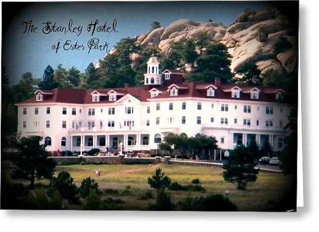 Greeting Card featuring the photograph Stanley Hotel by Michelle Frizzell-Thompson