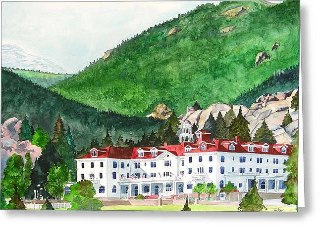 Stanley Hotel Greeting Card